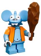 Lego simpsons Itchy the mouse