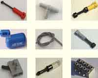 Pneumatic Lego hardware, pumps, tube, T connectors, switches, hydraulics, springs, shock absorbers