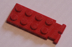 red lego digger bucket arm.