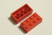 red, Lego, bricks