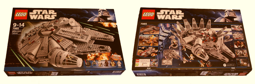 Lego Star Wars set 7965 BNIB competition prize at Spareblocks.com
