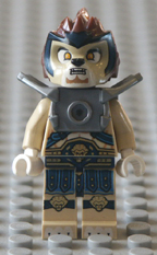 Lego Legends of Chima minifigures.
