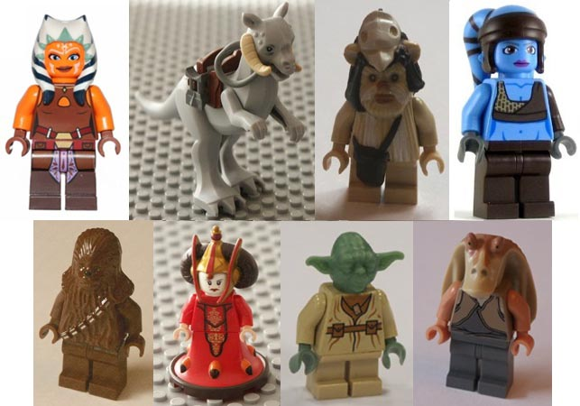 alien, animal, creatures, star wars, lego.