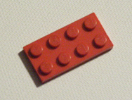 Red Lego plates page link
