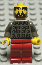 dark old grey Lego minifigures