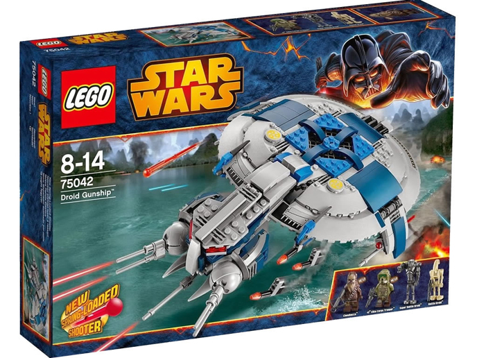 Lego Star Wars set 75042 BNIB competition prize at Spareblocks.com