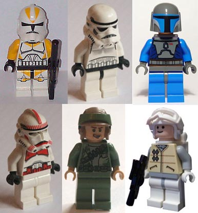 Lego, troopers, soldiers.